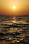 Onde al tramonto — Foto Stock