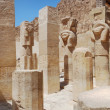 Temple in luxor — Stock Photo