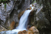 Waterfall in the mountain — Stock Photo