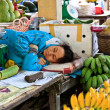Sleeping vendor — Stock Photo #10061526