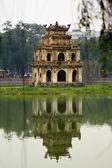 Pagoda reflection — Stock Photo