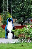 Pinguin bin — Stock Photo