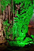 Green cave — Stock Photo