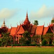 National museum in Phnom Penh — Foto Stock