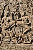 Apsara dancers — Stock Photo