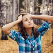 Teenage girl - Stockfoto