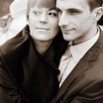 Newlyweds — Stock Photo #9827058