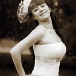 Happy bride — Stock Photo #9827758