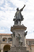 Christopher Columbus monument — Stock Photo