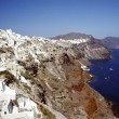 Summer holiday in Santorini — Stock Photo