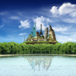 World landmarks - Foto Stock