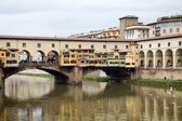 Ponte vecchio, florencia, italia — Foto de Stock