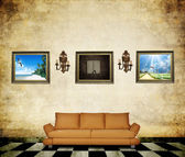 Vintage room — Stock Photo