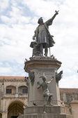 Monumento a cristóbal colón — Foto de Stock