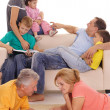 Family at home — Stock Photo #8005252