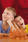 Young boys playing — Stock Photo