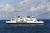 Helsingborg, sweden: scandlines ferry — Stock Photo