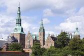 Hillerod, denmark: frederiksborg castle — Stock Photo