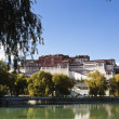 tibet: potala palace — Stock Photo