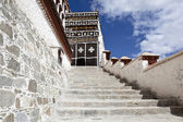 Tibet: building in potala palace — Stock Photo