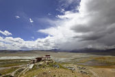 Tibet: samding monastery — Stock Photo