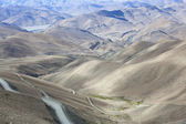 Tibet: tibetan plateau — Stock Photo