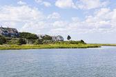 Cape cod: new england houses — Stock Photo
