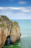 Cliff at Castro Urdiales — Stock Photo