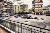 View from balcony — Stock Photo