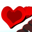 Royalty-Free Stock Photo: Heart on Valentine\'s Day