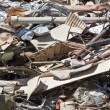 Stock Photo: Scrap Metal Pile
