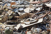 Scrap Metal Pile — Stock Photo