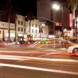 Hollywood and Highland Boulevard - Stock Photo