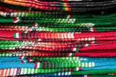Colorful Mexican Blankets — Stock Photo