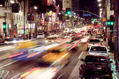 Hollywood boulevard — Stockfoto