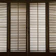 Wooden Window Shutters — Stock Photo