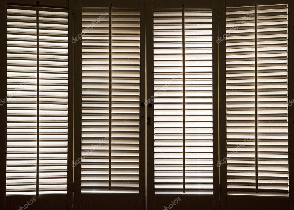 Wooden window shutters stock photo ccstockmedia 8746023 for 12 window shutters
