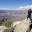 Grand Canyon Photographer — Stock Photo