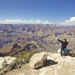 Stock Photo: Grand Canyon Freedom