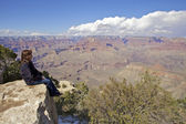 Grand Canyon View — Foto Stock