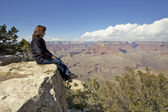Grand Canyon Contemplation — Stock Photo