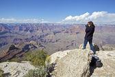Grand Canyon Photographer — Stock Photo