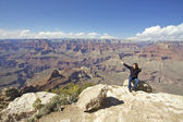 Grand Canyon Freedom — Stock Photo