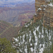 Grand Canyon Winter Vista - Photo