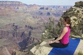 Grand canyon meditace — Stock fotografie