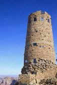 çöl görünümü watchtower — Stok fotoğraf