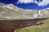 Hermosa alta montaña escénica — Foto de Stock