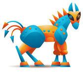 Троянский конь — Cтоковый вектор