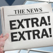 Stock Photo: News Extra