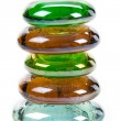Colorful glass beads — Stockfoto